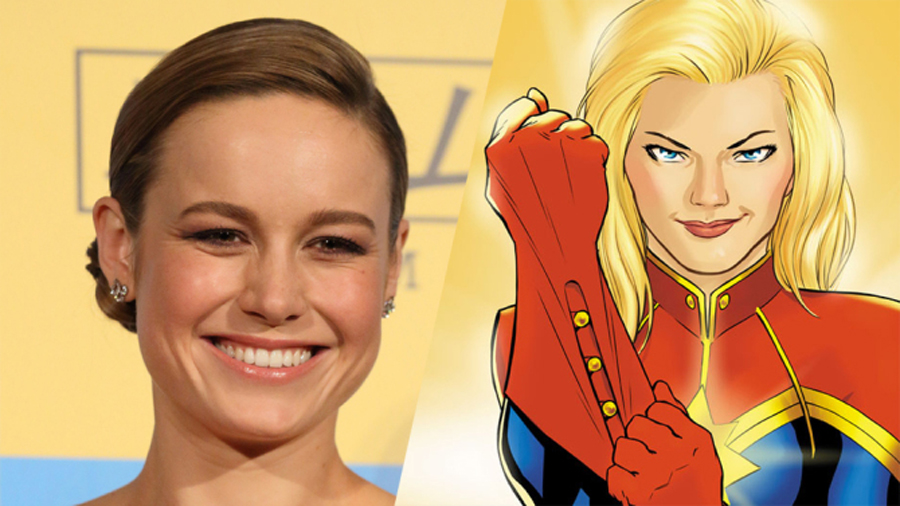 Brie Larson substantially hints at her version of 'CAPTAIN MARVEL'