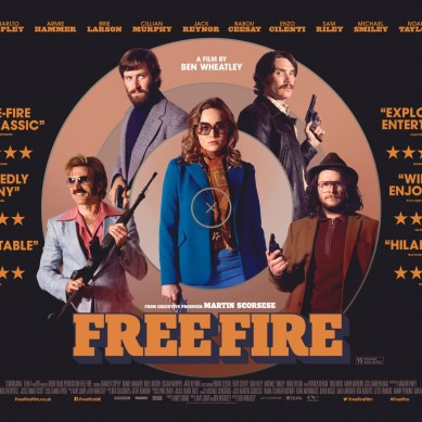 'FREE FIRE' goes south in the best way – chatting about the loose cannon nature with its talent