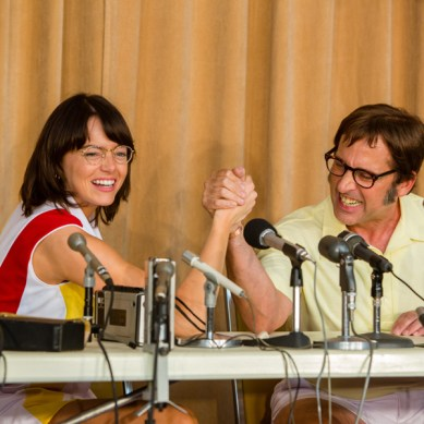 """'BATTLE OF THE SEXES': A tale of equality, respect and """"Rocket Man"""" for the Trump era"""