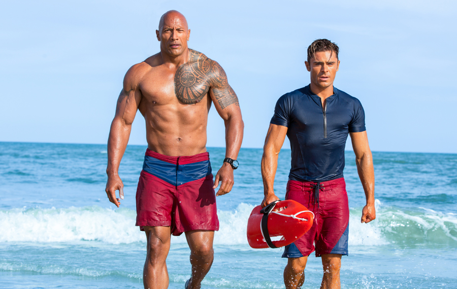 Babes, waves & rays! All a part of your average 'BAYWATCH' day