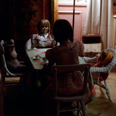 The devil resides in a damned doll in 'ANNABELLE: CREATION'