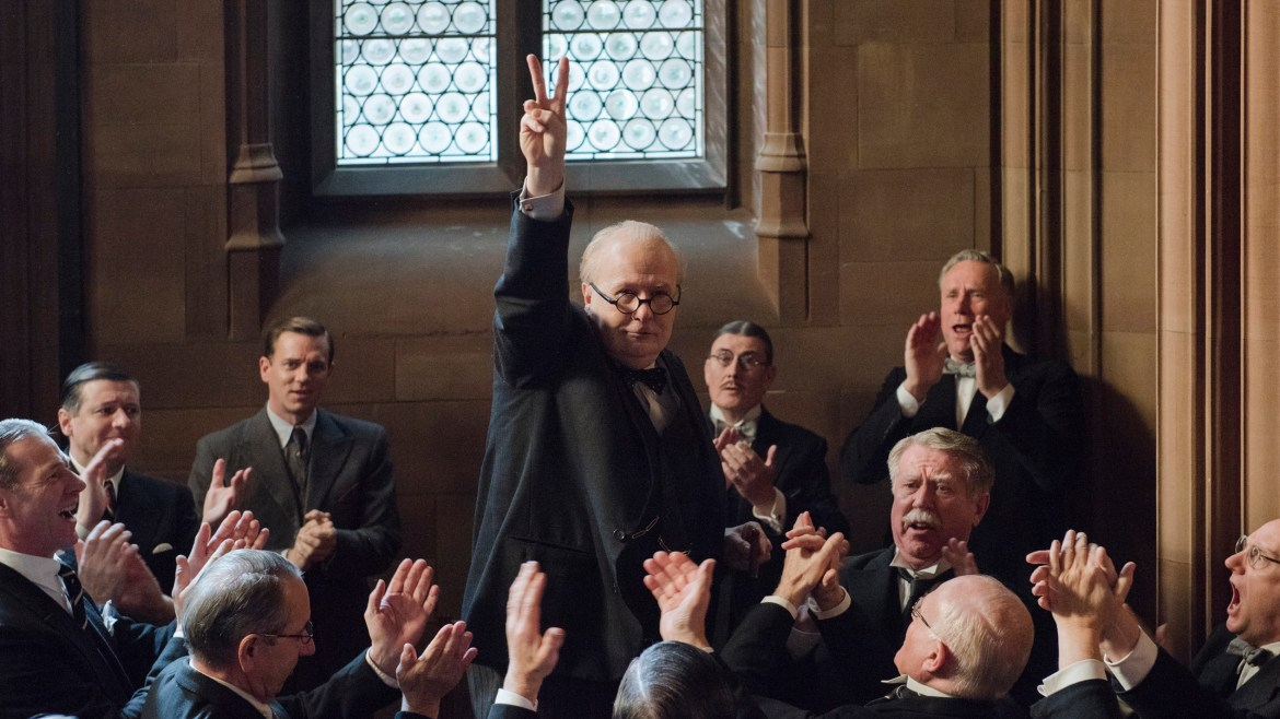 Chameleon actor Gary Oldman to give award-worthy performance in 'DARKEST HOUR'