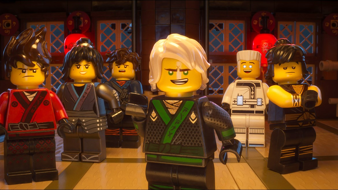 Movie Review: 'THE LEGO NINJAGO MOVIE' is another brick in the wall