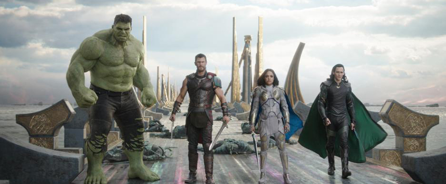 Movie Review: 'THOR: RAGNAROK' is a rockin', eye-popping spectacular