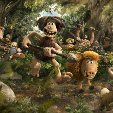 "Animation Directors Merlin Crossingham & Will Becher ""massage"" 'EARLY MAN' to life"