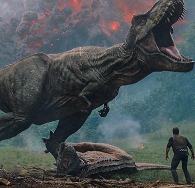 Win a Dino-mite Copy of 'JURASSIC WORLD: FALLEN KINGDOM' on Blu-ray!