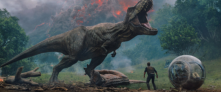 Win a Dino-mite Copy of 'JURASSIC WORLD: FALLEN KINGDOM' on Blu-ray!