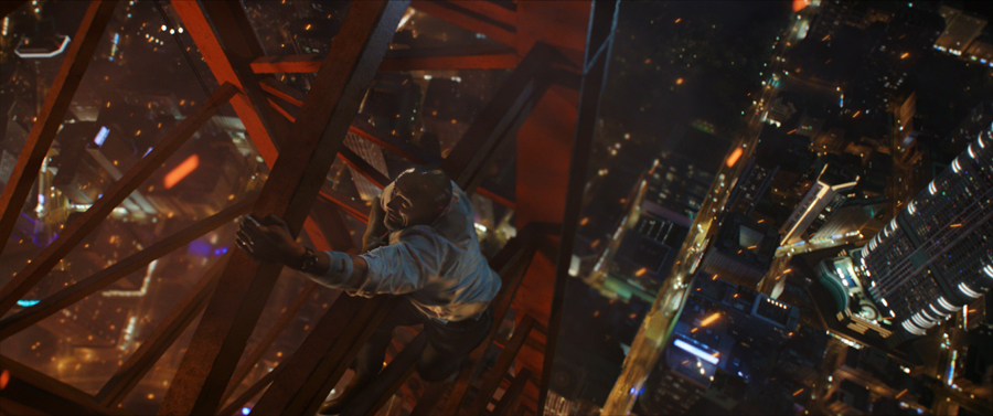 Dwayne Johnson proves why he's super dependable in a crisis in 'SKYSCRAPER'