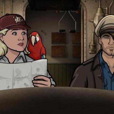 """TV Review: 'ARCHER' – """"Strange Doings in the Taboo Groves"""" (Season 9, Episode 5)"""
