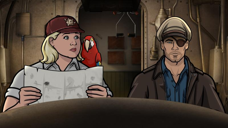 "TV Review: 'ARCHER' – ""Strange Doings in the Taboo Groves"" (Season 9, Episode 5)"