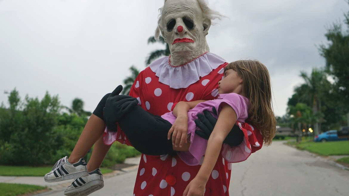 [Fantastic Fest review] 'WRINKLES THE CLOWN' a doc about an unidentified clown who trades in terrorizing children