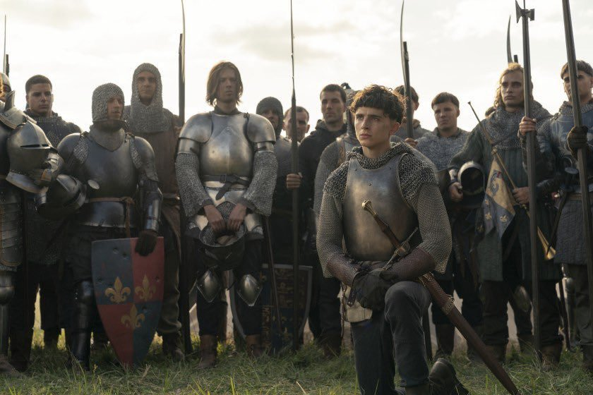 [Review] 'THE KING' partially bends the knee for Timothée Chalamet in this almost satisfying tale of swords and crowns