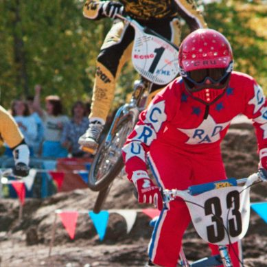 A time capsule on tires: 'RAD' stars backflip into their '80s BMX movie for digital release