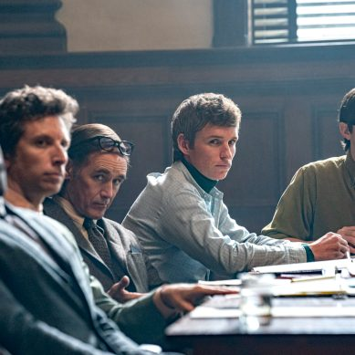 [Review] Timely and sharp, 'TRIAL OF THE CHICAGO 7' unravels a gripping courtroom yarn