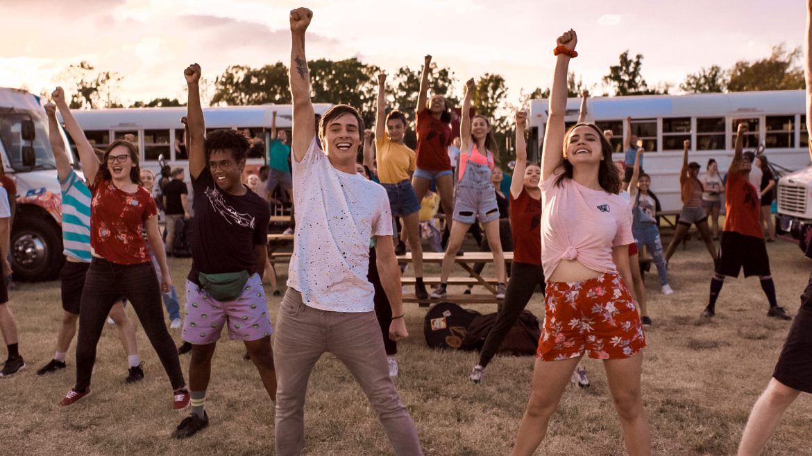 [Video Interview] 'A WEEK AWAY' actors sing and dance positivity in a Christian summer camp musical