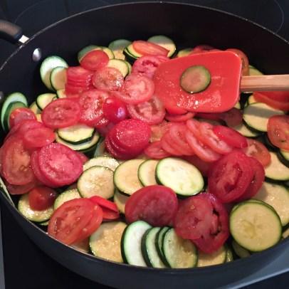 potato tomato zucchini casserole olive oil