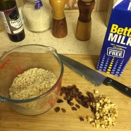 walnut raisin porridge 2
