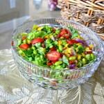 Dinner Salad Take 2: sweet and savory