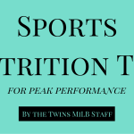 Nutrition Tips for Peak Performance & a HUGE ANNOUNCEMENT