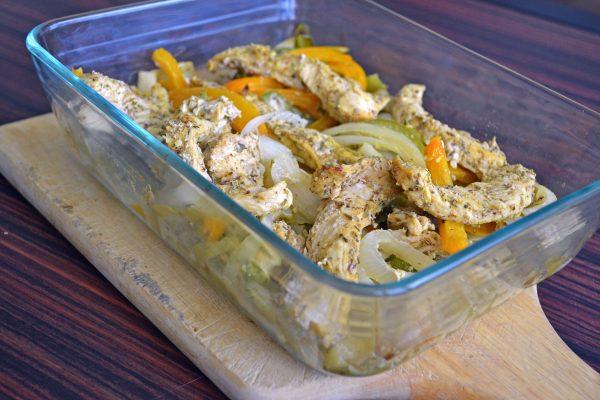 easy chicken fajita