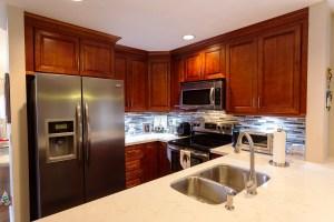 fresh floor kitchen and baths - south florida home redesign - kitchen redesign