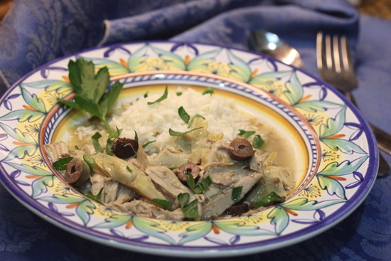 Tuscan Chicken with Artichoke Hearts and Olives  Fresh
