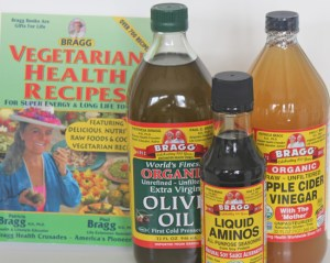 Use high quality ingredients like Bragg's Olive Oil, Organic Raw & Unfiltered Apple Cider Vinegar and Liquid Aminos for seasoning.