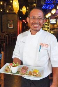 Sangrita Chef de Cuisine  Eduardo Pineda