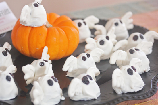 """""""BOO"""" Berry Truffles from She Paused for Thought."""