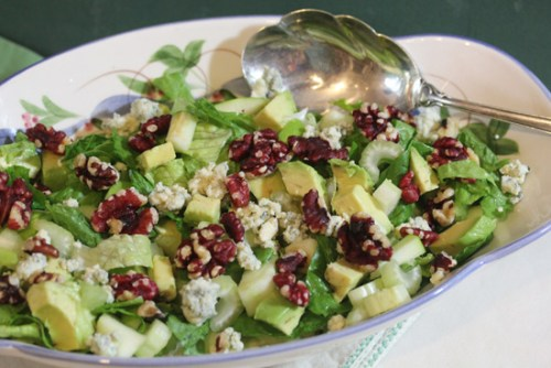Red Walnuts light up Waldorf Salad