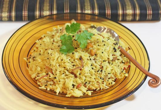 Lemon Rice is addictively good!