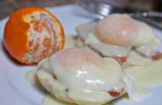 Eggs Benedict top Brunch Favorites