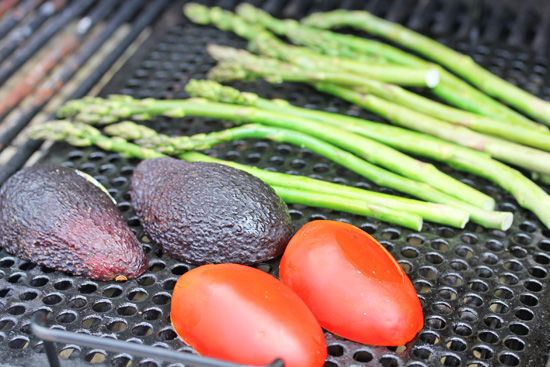 Use a grill rack to prevent small items from falling through to the fire.