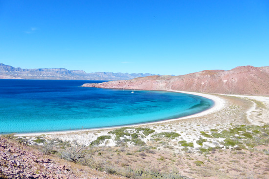 Harvesting Sea Salt in the Sea of Cortez on FreshFoodinaFlash.com.