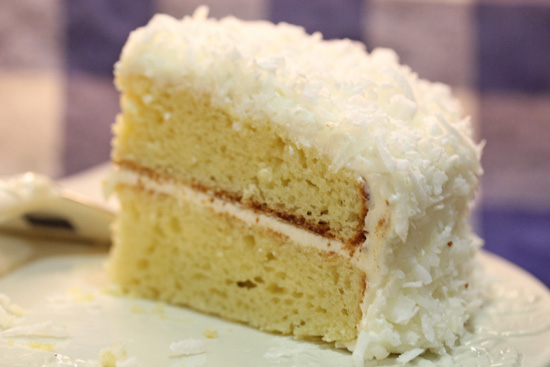 Coconut Cake recipe at FreshFoodinaFlash.com