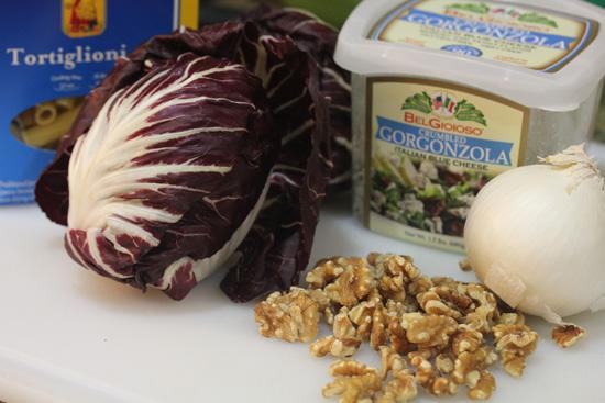 Radicchio, Gorgonzola and Walnuts recipe at FreshFoodinaFlash.com