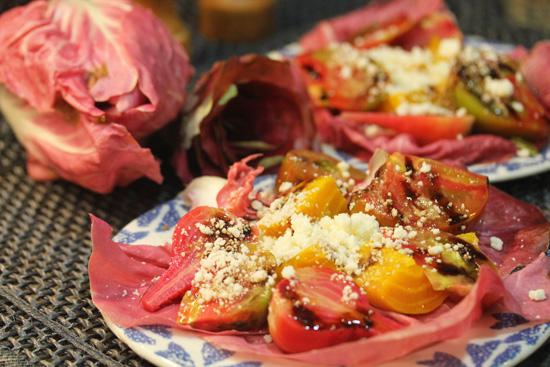 Italian Radicchio Salad recipe at FreshFoodinaFlash.com