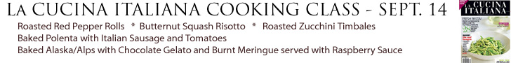 La Cucina Italiana Banner 9-14-17