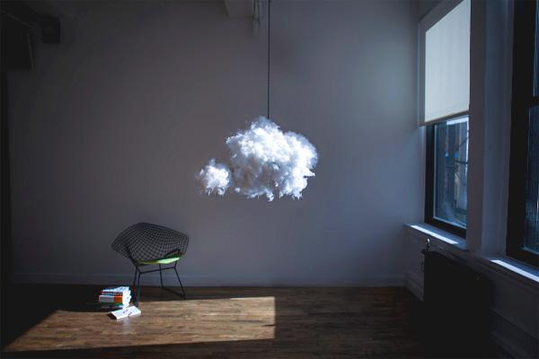 Met de Cloud Lamp haal je een onweersbui in huis
