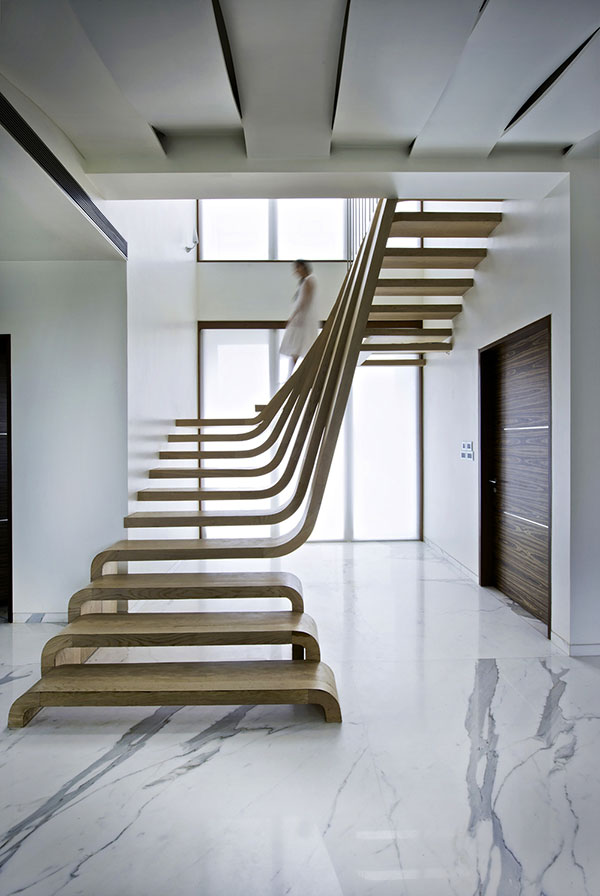 Wow Een trap als kunstwerk  Freshgadgetsnl