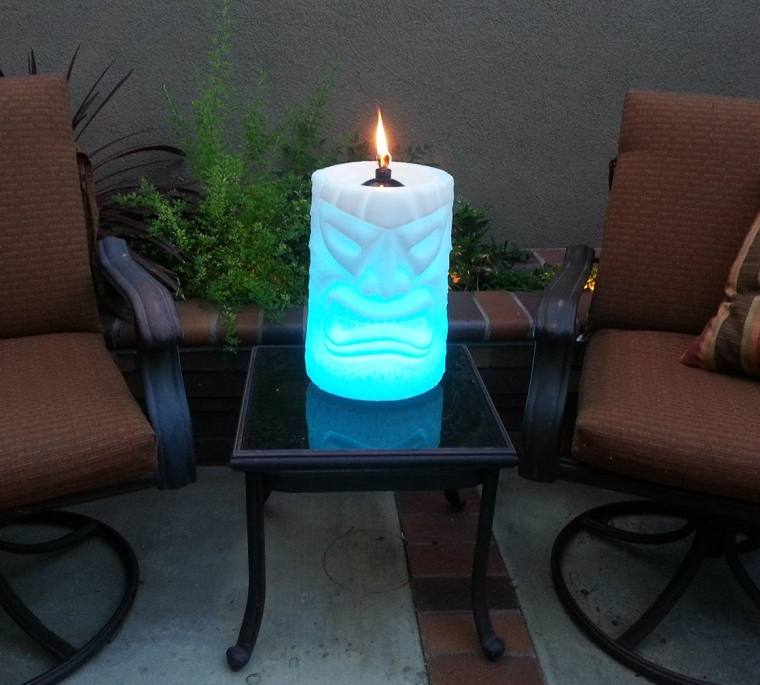 LED Table Top Tiki Torch  Fresh Garden Decor