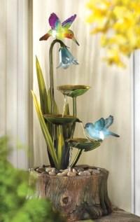 Haven Home Garden Decor Water Fountain | Fresh Garden Decor