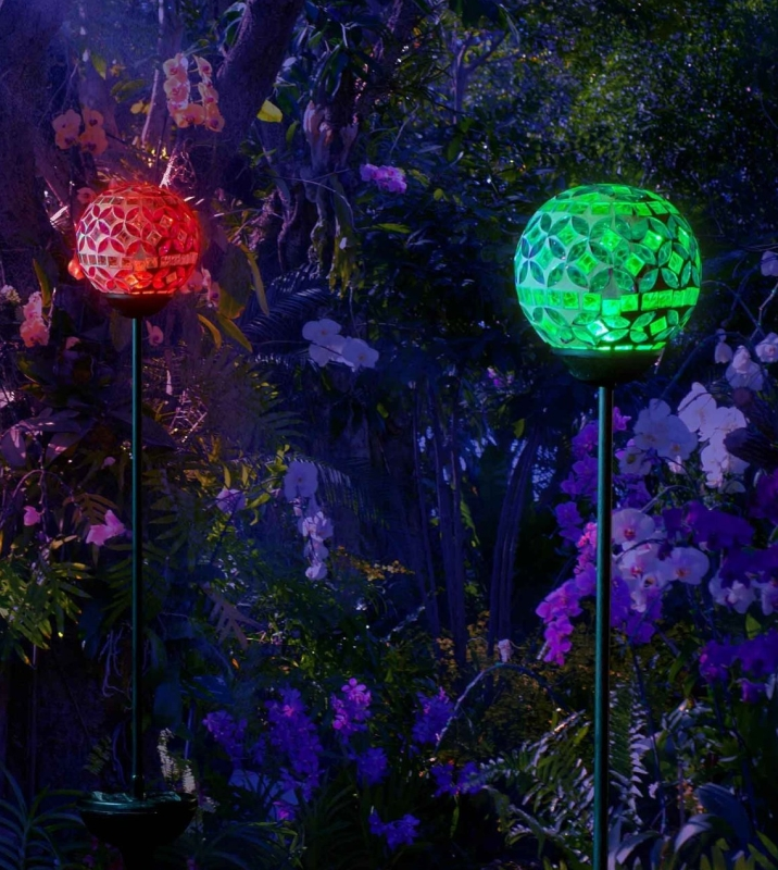 Solar Wall Garden Lights
