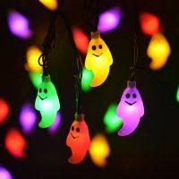Ghost Solar String Lights Outdoor Halloween Decorations ...