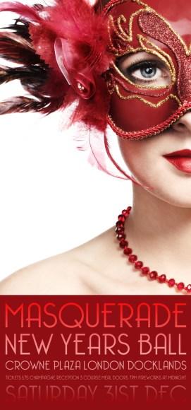 Masquerade Ball Poster Flyer Design Freshgraphix