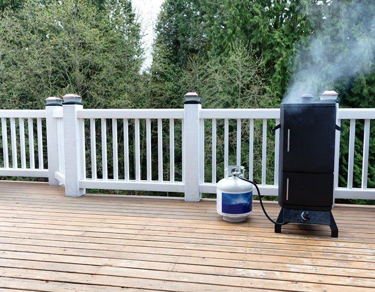 to smoke with a masterbuilt propane smoker