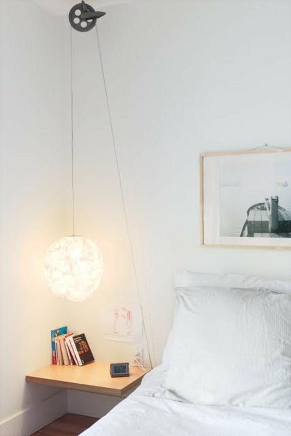 37 coole Ideen fr hngende Nachttischlampe fr Sie