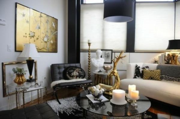 30 coole eklektische Interieur Ideen  inspirierende Dekoration