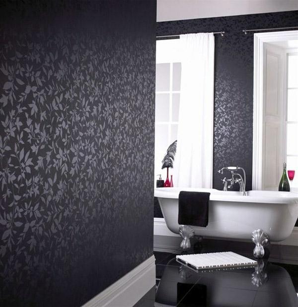 Schwarze Innenwnde in Ihrer Wohnung  30 originelle Vorschlge
