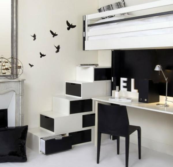 Schwarze Interieur Design Ideen  inspirierende Vorschlge